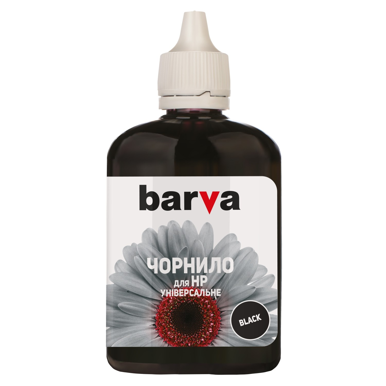 ЧЕРНИЛА Универсальные HP №3 BLACK 90 г HU3-364 BARVA