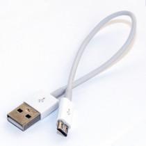 КАБЕЛЬ USB 2.0 - MICRO USB 2.0 (M/M) 0.15m PN-USB2-MIC-0.15 PATRON