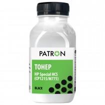 ТОНЕР HP Специальный HCS (CP1215/CP1025/M775) BLACK ФЛАКОН 50 г (PN-HCS-B-050) PATRON