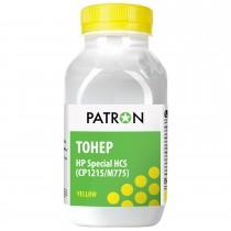 ТОНЕР HP Специальный HCS (CP1215/CP1025/M775) YELLOW ФЛАКОН 50 г (PN-HCS-Y-050) PATRON