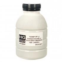 ТОНЕР HP LJ Универсальный LJ 1010/1200/1160/P2015 ФЛАКОН 100 г (HG221) HG toner