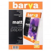 ФОТОПАПІР BARVA Двосторонній Матовий 190г/м2 A4 20 арк (IP-B190-T02)